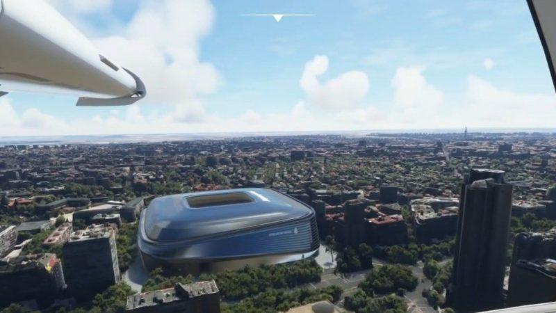 Imagens aéreas mostram como ficará novo Santiago Bernabeu, estádio do Real Madrid