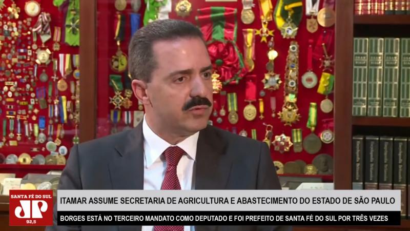 Deputado Estadual Itamar Borges assume Secretaria de Agricultura e Abastecimento do governo João Dória